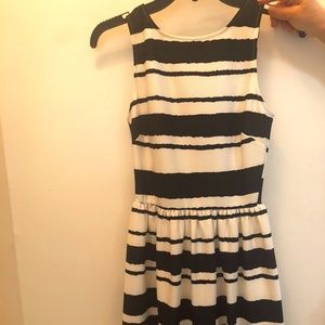 Fun & Flirty Cocktail Dress in black and white!